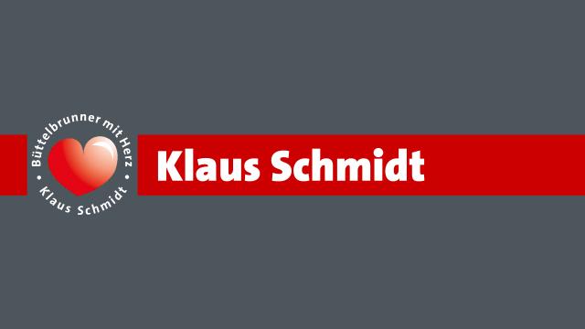 Porträtfoto Klaus Schmidt